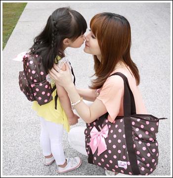 史上最輕 ♥ JUMI 時尚輕巧托特空氣媽媽包、親子包、背包