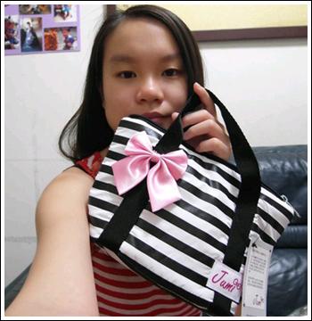 【開箱】Jumi*時尚親子包-小托特空氣包